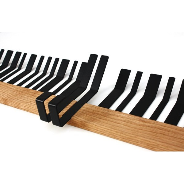 BARDECO black coat rack by Lina Meier
