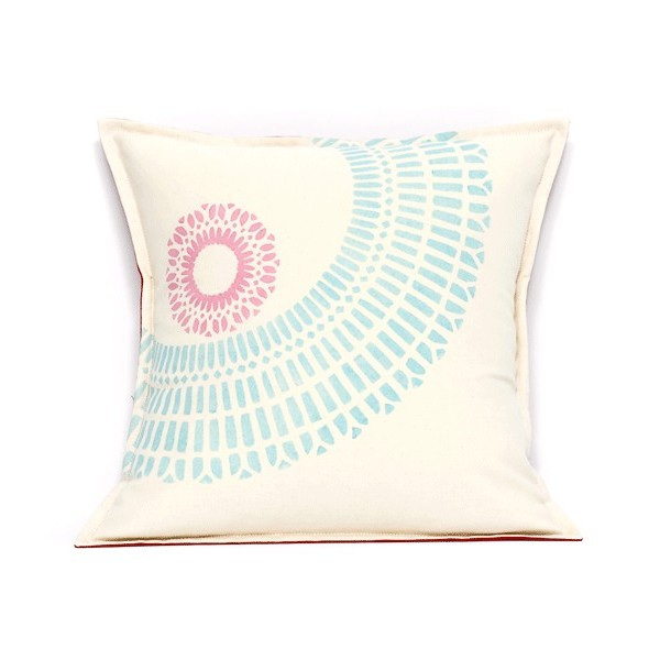 BULLE square cushion by  Mademoiselle Dimanche