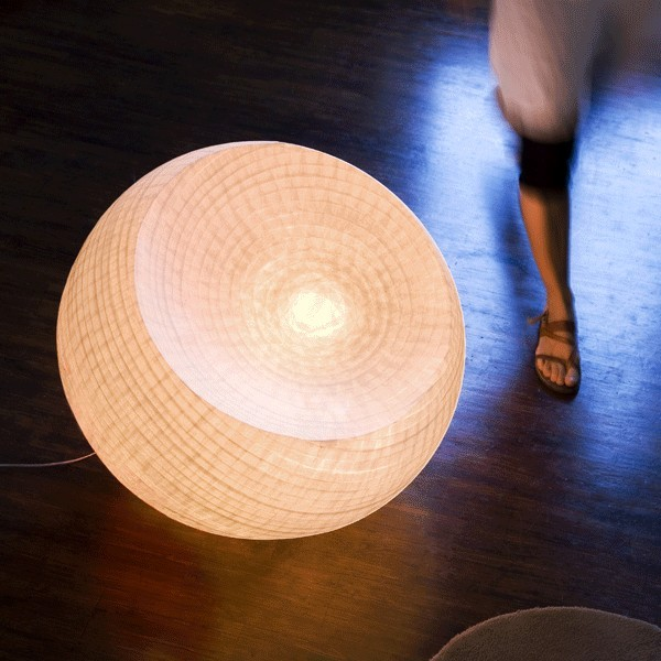 HEMISPHERE lamp by Celine Wright