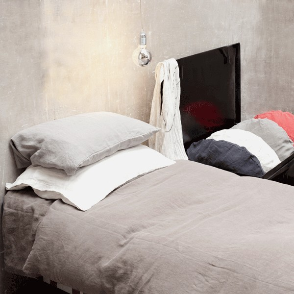 Linen duvet cover NOLITA (various colours and sizes) by Bed and Philosophy