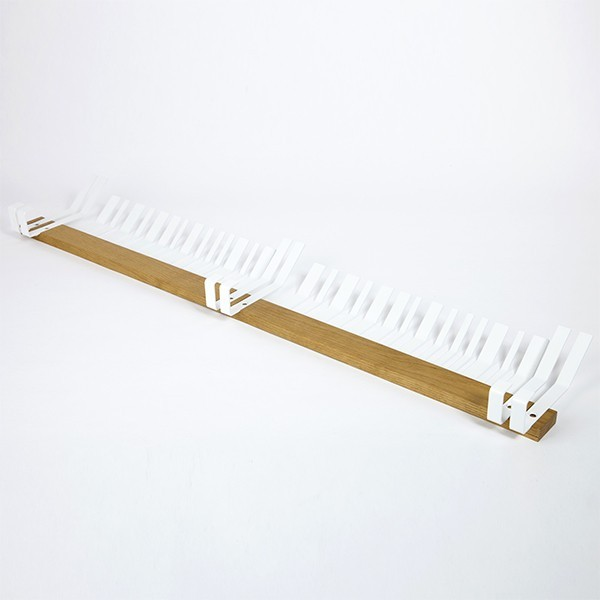 BARDECO white coat rack by Lina Meier