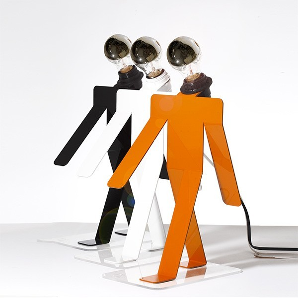 MOONWALK lamp (various colours) by Thomas de Lussac