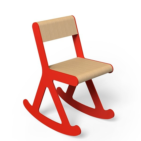 RAWKIT KID children's chair by Thomas de Lussac