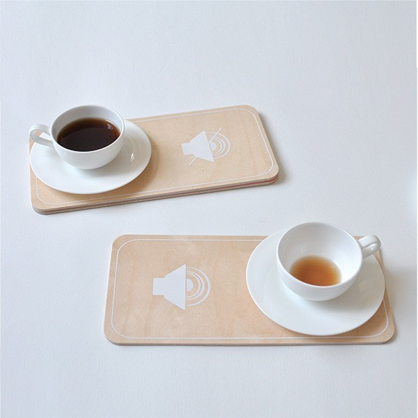 2 BREAKFAST MOOD plates by Julie Gaillard