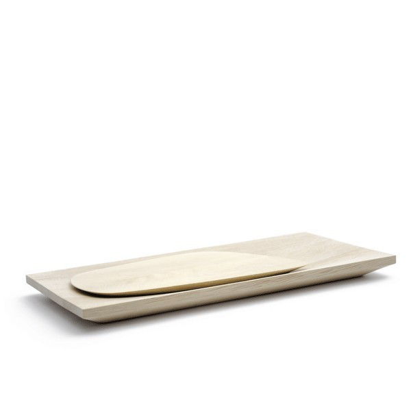PAYSAGE set of wooden boards/dishes by Y a pas le feu au lac
