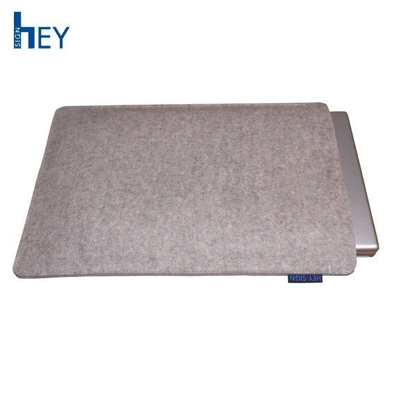 BOOK BAG grey laptop sleeve