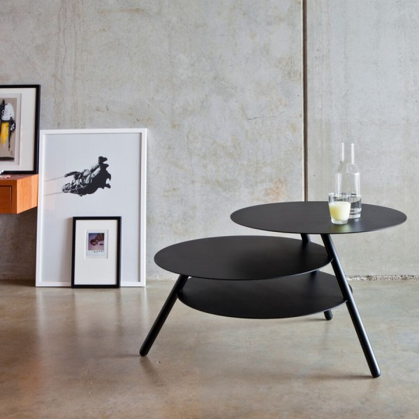 Table basse BIG TRIO noir