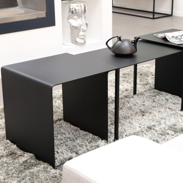Table basse - table d'appoint EYE TO EYE noir
