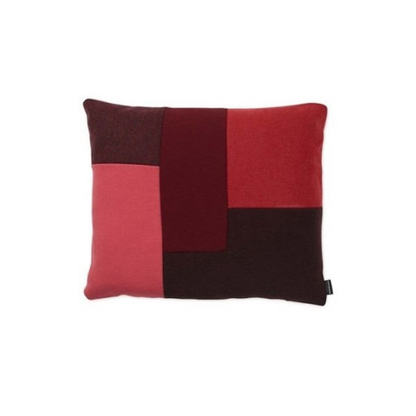 Coussin Brick rouge