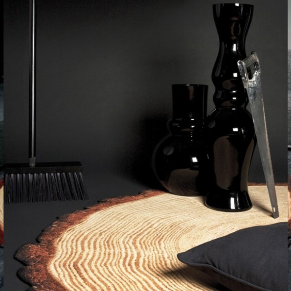 WOODY wood rug by YL design
