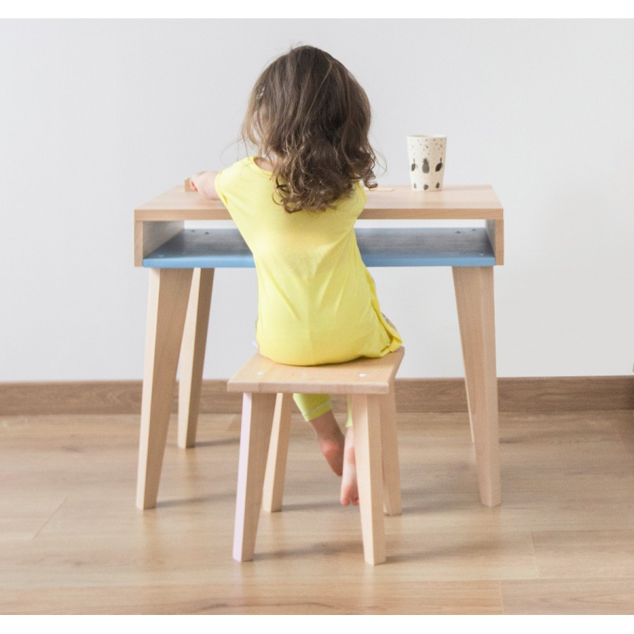 Children's desk TRAIT D'UNION by Paulette & Sacha