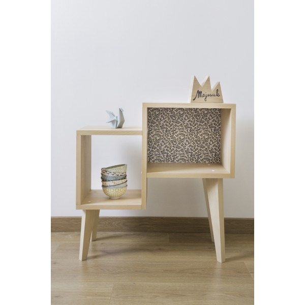 Table basse mini BOUDOIR par Paulette & Sacha