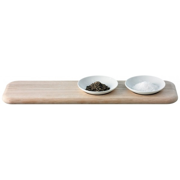 DINE condiment set & oak platter by LSA